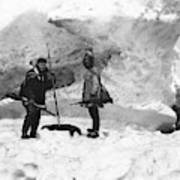Alaska Hunters Poster