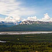 Alaska Range Poster by Chris Heitstuman