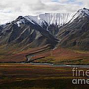 Alaska Range Poster