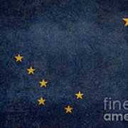 Alaska State Flag Poster