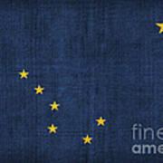 Alaska State Flag Poster by Pixel Chimp