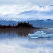 Alaskan Mountain Side Poster