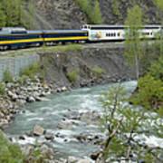Alaskan Railroad Poster