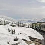 Alaskan Trainride Poster