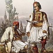 Albanians, 1865 Poster