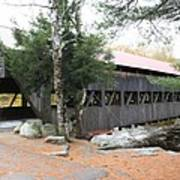 Albany Covered Bridge  Poster