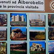 Alberobello Italy Poster
