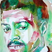 Albert Ayler - Watercolor Portrait Poster