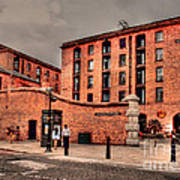 Albert Dock A Different View Poster