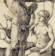 Albrecht Dürer German, 1471 - 1528, Apollo And Diana Poster