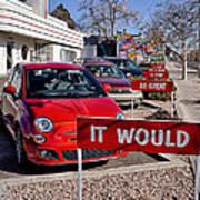 Albuquerque's Route 66 Diner Poster