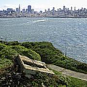 Alcatraz And San Francisco Poster