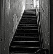 Alcatraz Hospital Stairs Poster by RicardMN Photography