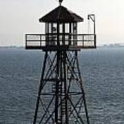 Alcatraz Watch Tower Poster