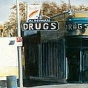 Alderman Drugs Poster