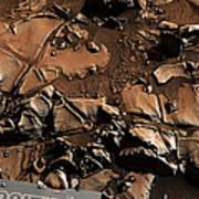 Alexander Hills Bedrock In Mars Poster