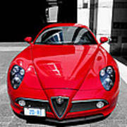 Alfa Romeo 1c Poster