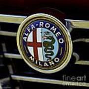 Alfa Romeo Badge Poster