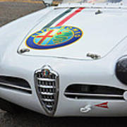 Alfa Romeo Front End Poster