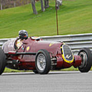 Alfa Romeo On Sam Posey Straight Poster