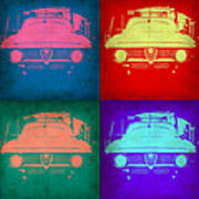 Alfa Romeo  Pop Art 1 Poster