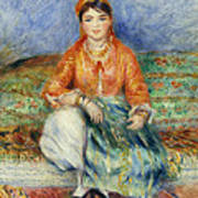 Algerian Girl Poster