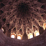 Alhambra Sculpted Domed Ceiling Poster