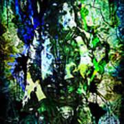 Alice Cooper - Feed My Frankenstein - Original Painting Print Poster