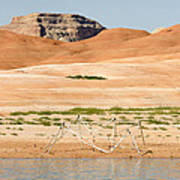 Alien Wreckage - Lake Powell Poster