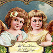 All Good Wishes For Christmas Poster