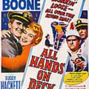 All Hands On Deck, L-r Pat Boone Poster