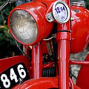All Original English Motorcycle Poster