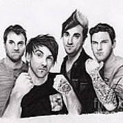 All Time Low 2 Poster by Rosalinda Markle