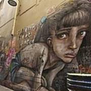 Alley Graffiti #2 Poster by Stuart Litoff