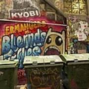 Alley Graffiti Poster