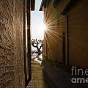 Alley With Sunbeam Poster