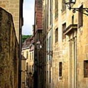 Alleys Of Sarlat Poster