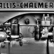 Allis Chalmers Engine Poster