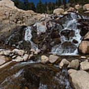 Alluvial Wet Rocks Poster