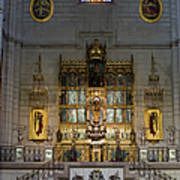 Almudena Cathedral Altar Poster
