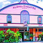 Aloha Theatre Kona Poster