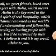 Aloha To You Poster
