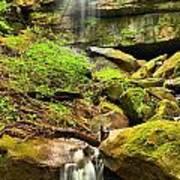 Alpha Falls Cascades Poster