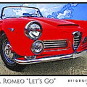 Alpha Romeo Let's Go Poster