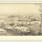Alphonse Legros, Valley In Bourgogne Une Vallee En Bourgogne Poster