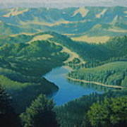 Alpine Lake Poster