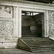 Altar Of Peace Of Augustus. 13 Bc Poster