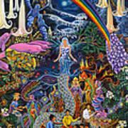Alto Cielo Poster by Pablo Amaringo