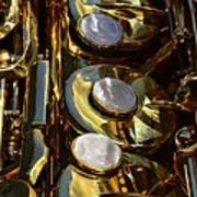Alto Sax Reflections Poster by Ken Smith