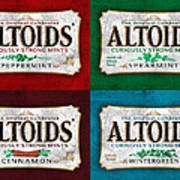 Altoids Collection Scratches Poster
